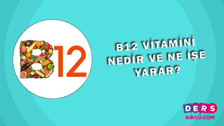 B12 Vitamini Nedir ve Ne İşe Yarar?