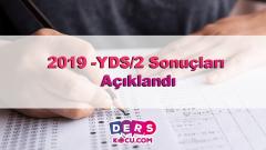 2019 YDS/2 Sonuçları Açıklandı