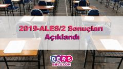 2019-ALES/2 Sonuçları Açıklandı