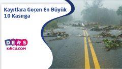 Kayıtlara Geçen En Büyük 10 Kasırga